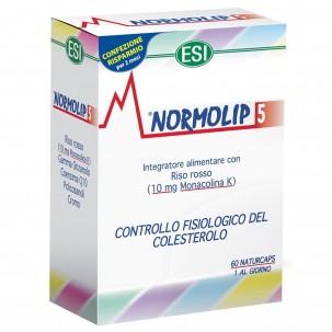 Normolip 5 Integratore Alimentare Controllo Colesterolo 60 Capsule