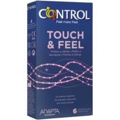 Profilattico Control Touch & Feel 6 Pezzi