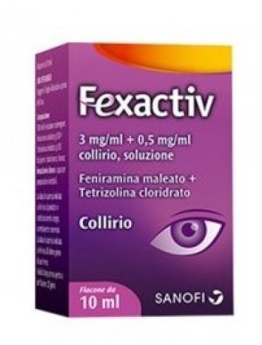 Fexactiv*collirio 10 ml 0,3 mg/ml + 0,5 mg/ml