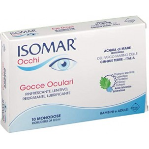 ISOMAR OCCHI MONODOSE 10 FLACONCINI 1+1