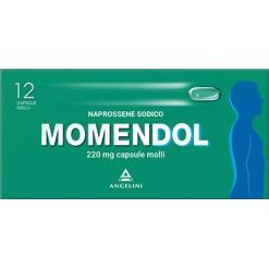 MOMENDOL*12 cps molli 220 mg