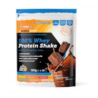 100% WHEY PROTEIN SHAKE CHOCO BROWNIE 900 G