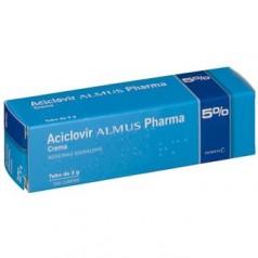 ACICLOVIR (ALMUS)*crema derm 3 g 5%