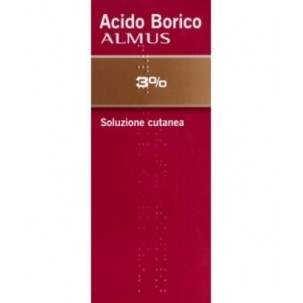 ACIDO BORICO (ALMUS)*ungento derm 30 g 3%
