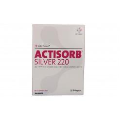 ACTISORB SILVER 220 6,5X9,5 10 PEZZI