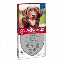 ADVANTIX SPOT ON*soluz 4 pipette 4 ml cani da 25 a 40 Kg