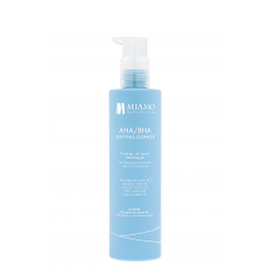 Miamo Acnever Aha/Bha Purifying Cleanser 250 ML Gel Detergente Purificante Sebo-Normalizzante