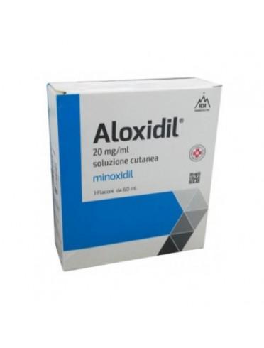 Aloxidil*soluzione cutanea 3 flaconi 60 ml 20 mg/ml