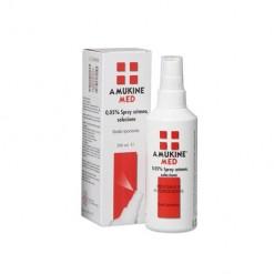 AMUKINE MED*soluzione dermatologica 250 ml 0,05%
