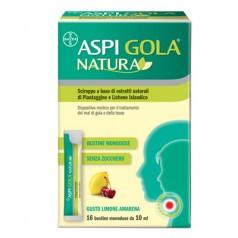Aspi Gola Natura 16 Bustine Monodose da 10 ml