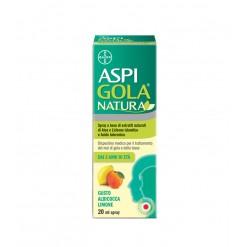 Aspi Gola Natura Spray Albicocca e Limone 20 ml