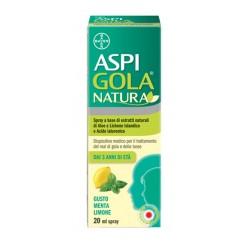 Aspi Gola Natura Spray Menta e Limone 20 ml