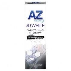 Dentifricio AZ 3D White Whitening Therapy Carbone 75 ML