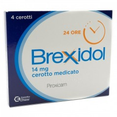BREXIDOL*4 cerotti medicati 14 mg
