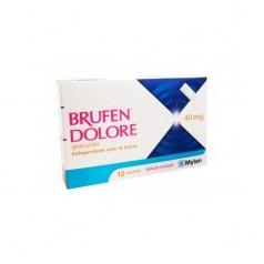 BRUFEN DOLORE*orale grat 12 bust 40 mg