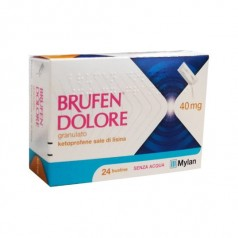 BRUFEN DOLORE*orale grat 24 bust 40 mg