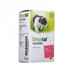 DRONTAL CUCCIOLO*orale sosp 1 flacone 50 ml