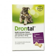 DRONTAL MULTI AROMA CARNE*2 cpr cani
