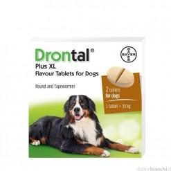DRONTAL PLUS FLAVOUR XL*2 cpr cani