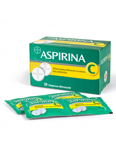 Aspirina c*20 cpr eff 400 mg + 240 mg