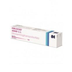 HIRUDOID*gel dermatologico 50 g 40.000 UI