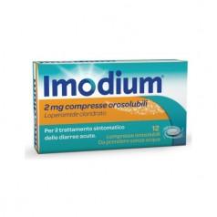 IMODIUM*12 compresse orosolubili 2 mg