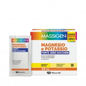 MAGNESIO POTASSIO FORTE ZERO ZUCCHERI 24 BUSTINE + 6 BUSTINE