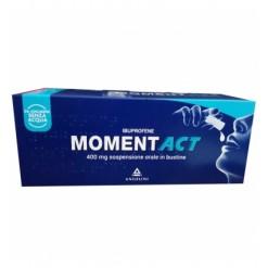MOMENTACT*sospensione orale 8 bustine 400 mg