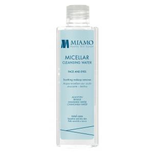 Miamo Total Care Micellar Cleansing Water 200 ML Acqua Micellare Viso-Occhi Struccante Lenitiva