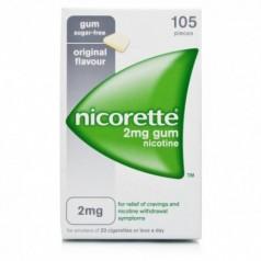 NICORETTE*105 gomme mast 2 mg