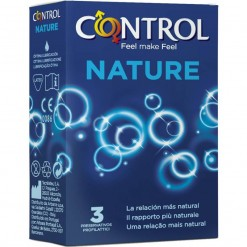 Profilattico Control New Nature 2.0 3 Pezzi