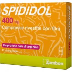 SPIDIDOL*12 compresse rivestite 400 mg
