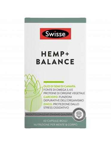 Swisse hemp+ balance 60 capsule
