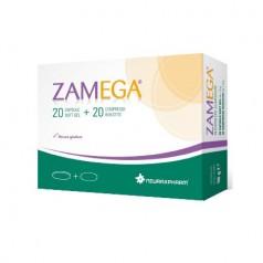ZAMEGA 20 CAPSULE SOFTGEL + 20 COMPRESSE RIVESTITE