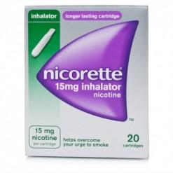 NICORETTE*soluzione inalante 20 flaconcini monodose 15 mg