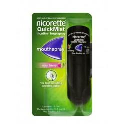 NICORETTEQUICK*1 flaconcino 150 dosi soluz oromucosale 1 mg/erogazione aroma frutti rossi
