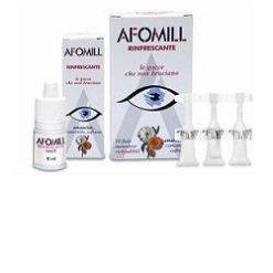 AFOMILL RINFRESCANTE GOCCE OCULARI 10 FIALE MONODOSE 0,5 ML