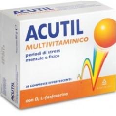 ACUTIL MULTIVITAMINICO 20 COMPRESSE EFFERVESCENTE