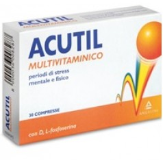 ACUTIL MULTIVITAMINICO 30 COMPRESSE