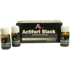 ACTIFORT BLACK 10 FLACONCINI 10 ML