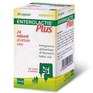 ENTEROLACTIS PLUS 20 CAPSULE