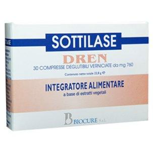 SOTTILASE DRENANTE 30 COMPRESSE