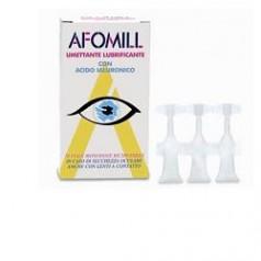 AFOMIL UMETTANTE LUBRIFICANTE GOCCE OCULARI 10 FIALE 0,5 ML