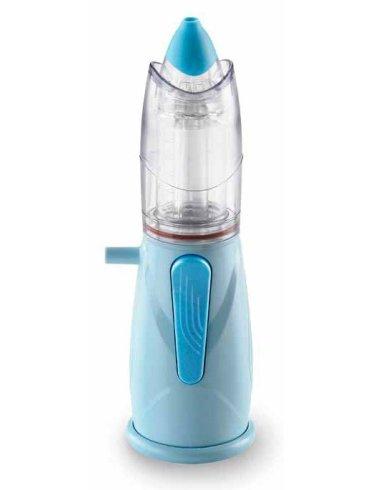 Aerosol per alte vie respiratorie rinowash azzurro 471221 con campana universale