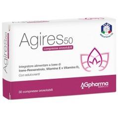 AGIRES 50 30 COMPRESSE OROSOLUBILI SCATOLA 5,4 G