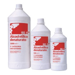 ALCOOL ETILICO DENATURATO 500 ML