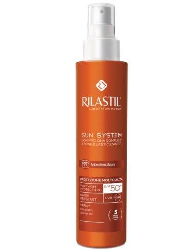 Rilastil sun system photo protection therapy spf50+ spray vapo 200 ml