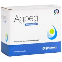 AGPEG MACROGOL 3350 30 BUSTE 5 G