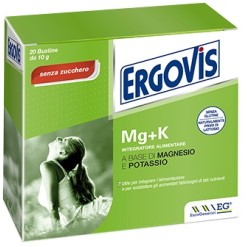 ERGOVIS MG+K SENZA ZUCCHERO 20 BUSTINE 5 G