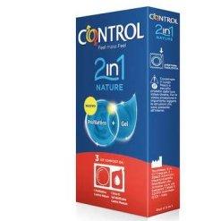 CONTROL 2 IN 1 NATURE + LUBE NATURE 3 PEZZI